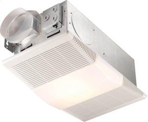 Heater/Fan/Light, 1300W Heater, with 100W Incandescent Light, 70 CFM; Ventilation Fans Product Image