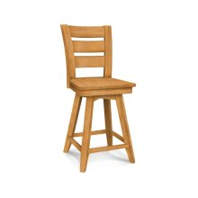 Tuscany 24'' Swivel Counter Stool