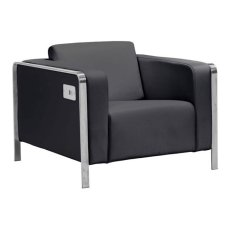 Thor Arm Chair Black Product Image
