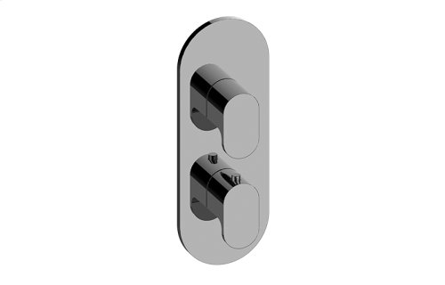 Ametis M-Series Valve Trim with Two Handles