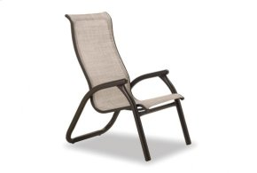 Maxx Chat Height Supreme Stacking Arm Chair
