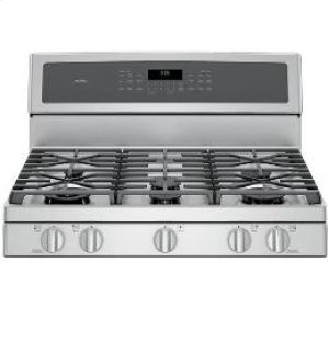 """30"""" Free-Standing Double Oven Gas Convection Self-Cleaning Range"""