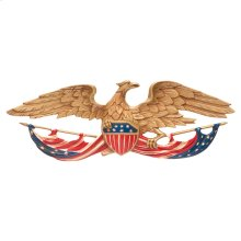 "24"" Patriotic Wall Eagle - Multi-Colored"