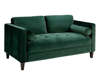 Emerald Dapper Loveseat