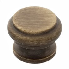 Tuscany Bread Box Knob A230 - Antique English Matte