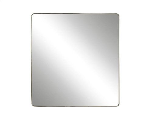 Accent Mirror - Brushed Brass