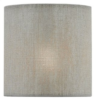 Dusk Cloud Linen Shade - 4 x 4 x 4