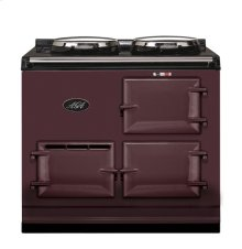Aubergine 2-Oven AGA Cooker (electric) Electric fuelled cast-iron cooker