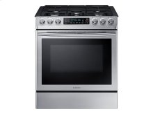 5.8 cu. ft. Slide-in Gas Range with Fan Convection
