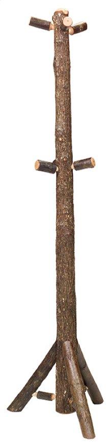 Floor Coat Tree - Natural Hickory