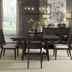 Liberty Furniture Industries 5 Piece Trestle Table Set
