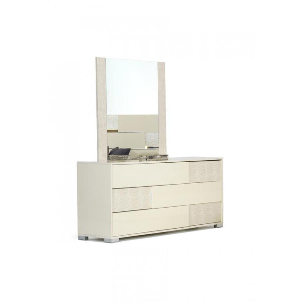 Modrest Ancona Italian Modern Beige Dresser