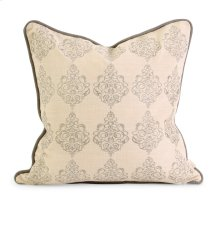 IK Adisa Embroidered Pillow w/ Down Fill