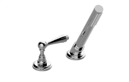 Camden Deck-Mounted Handshower & Diverter Set