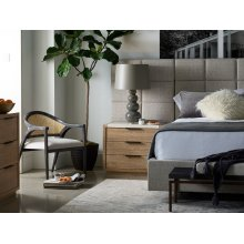 Bacall Queen Bed with Wall Panels