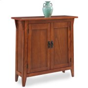 Mission Foyer Cabinet/Hall Stand w/adjustable shelf #10001-RS Product Image