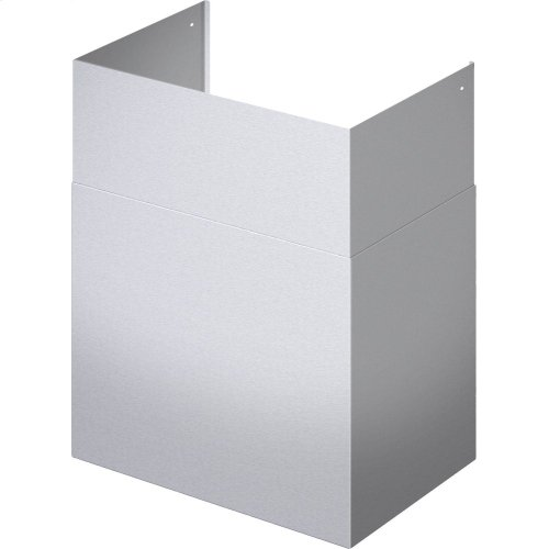 42 x 59-Inch Telescoping Duct Cover for Professional Chimney Wall Hood CHMHP36XTW