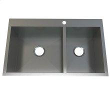 Atelier stainless steel 1 1/2 bowl- topmount
