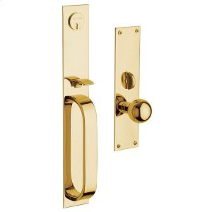 Lifetime Polished Brass Chicago Entrance Trim Product Image