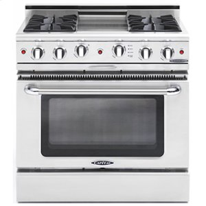 "CapitalCulinarian 36"" Gas Self Clean Range"