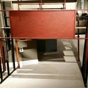 Metal Bed Rack