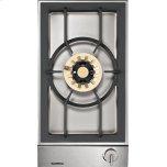 "Gaggenau200 series Vario 200 series gas wok cooktop Stainless steel control panel Width 12 "" (38 cm) Natural gas Wok burner with up to 5.5 KW"