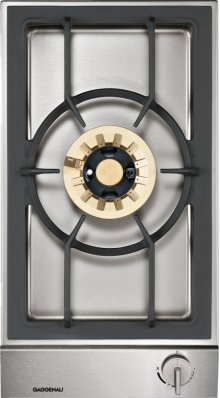 """Vario 200 Series Gas Wok Cooktop Stainless Steel Control Panel Width 12 """" Natural Gas Wok Burner With Up To 5.5 Kw"""