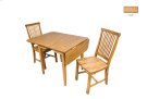 Solid Oak Chair Product Image