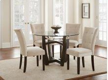 "Matinee Parsons Chair, Beige, 18"" x 25"" x 38"""