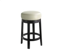 Cedric Swivel Counter Stool - Cream