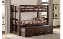 3340 Espresso T/T Bunk Bed