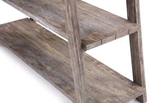 Emerald Home Laurel Lane Sofa Table W/tile Top Gray T306-02