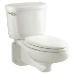 American StandardGlenwall Pressure Assisted Wall-Mounted Toilet - White