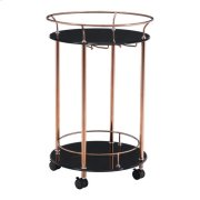 Plato Serving Cart Rose Gold Product Image