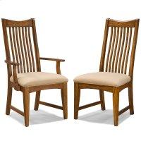 Pasadena Revival Slat Back Arm Chair Product Image
