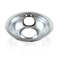 Chrome Replacement Burner Bowl - Universal 8 in.(Oven & Range)