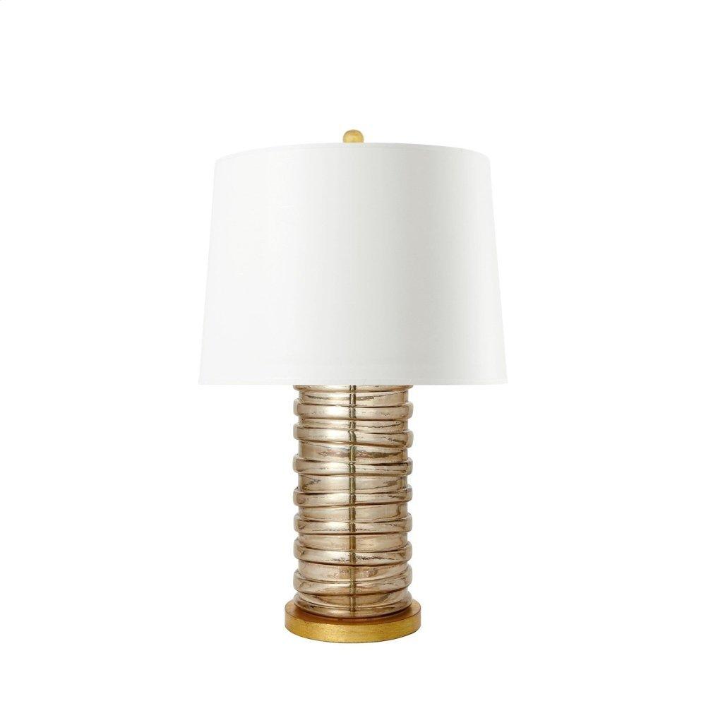 Corbin Lamp, Gray Luster