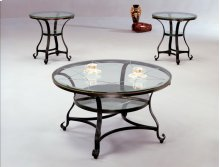 """Jessica Coffee Table 38""""rd"""