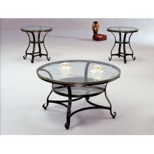 Jessica Round End Table