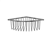 Essentials Corner Wire Soap Basket, Large