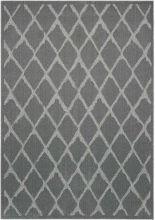 Gleam Ma601 Grey Rectangle Rug 5'3'' X 7'3''