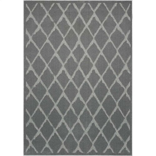 Gleam Ma601 Grey Rectangle Rug 5'3'' X 7'3''