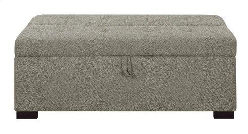 Emerald Home Cache I Twin Sleeper Ottoman W/gel Mattress Gray U3241-33-03