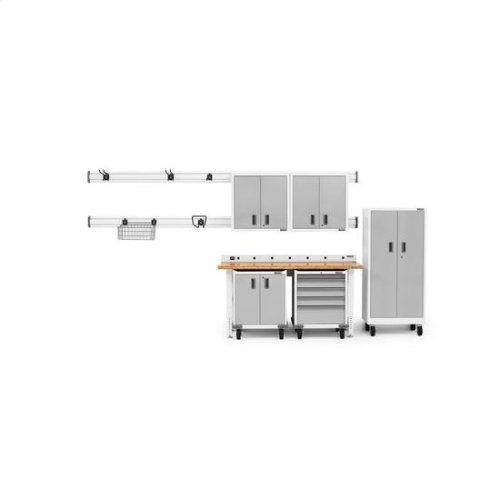 Gladiator® Premier Pre-Assembled Modular GearBox - White