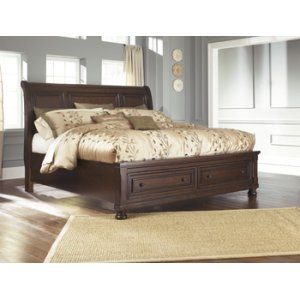 Ashley Furniture Porter - Rustic Brown 3 Piece Bed Set (Queen)