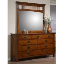 SS-TR750 Bedroom  Dresser & Mirror Set