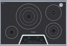 """30"""" Masterpiece Electric Cooktop with Touch Control and SensorDome"""