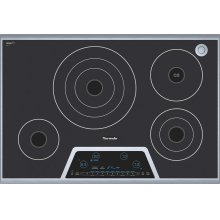 "30"" Masterpiece Electric Cooktop with Touch Control and SensorDome"