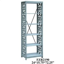 Glen Abbey Textured Stone Grey Etagere