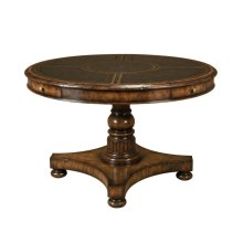 FRONTIER MAHOGANY CARD TABLE